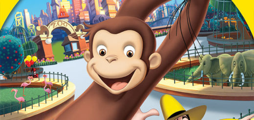 """Poster for the movie """"Curious George"""""""