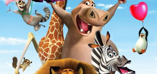 "Poster for the movie ""Madly Madagascar"""