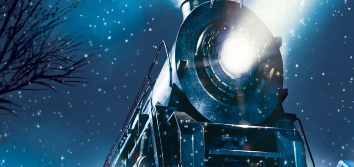 "Poster for the movie ""The Polar Express"""