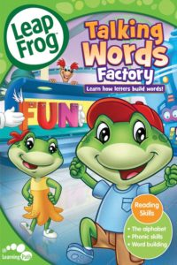 "Poster for the movie ""LeapFrog: Talking Words Factory"""
