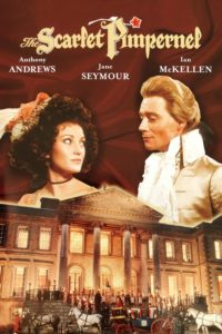 """Poster for the movie """"The Scarlet Pimpernel"""""""