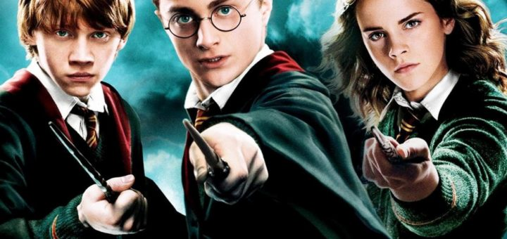 """Poster for the movie """"Harry Potter and the Order of the Phoenix"""""""