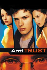 "Poster for the movie ""Antitrust"""