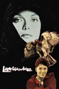 "Poster for the movie ""Ladyhawke"""