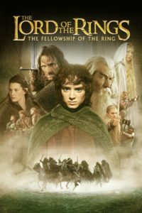 """Poster for the movie """"The Lord of the Rings: The Fellowship of the Ring"""""""