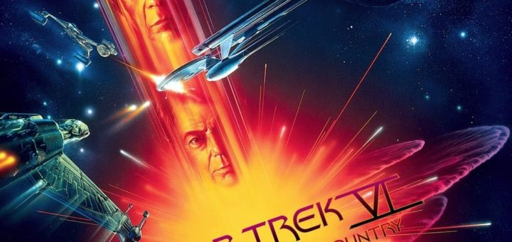 "Poster for the movie ""Star Trek VI: The Undiscovered Country"""