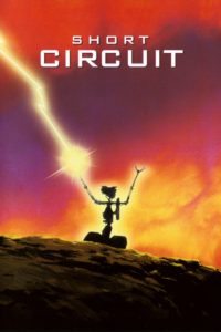 "Poster for the movie ""Short Circuit"""
