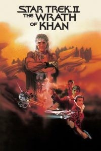 "Poster for the movie ""Star Trek II: The Wrath of Khan"""