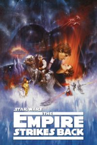 "Poster for the movie ""The Empire Strikes Back"""
