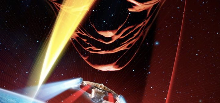 "Poster for the movie ""Star Trek: Insurrection"""