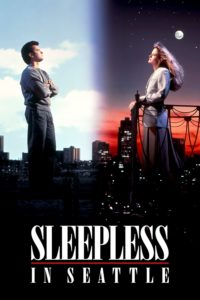 "Poster for the movie ""Sleepless in Seattle"""