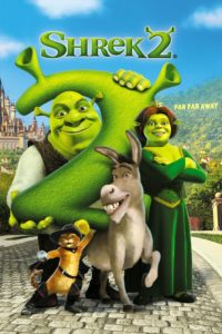 "Poster for the movie ""Shrek 2"""