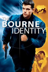 "Poster for the movie ""The Bourne Identity"""