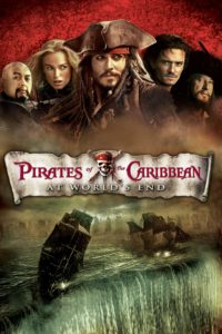 "Poster for the movie ""Pirates of the Caribbean: At World's End"""