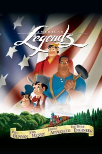 "Poster for the movie ""Disney's American Legends"""