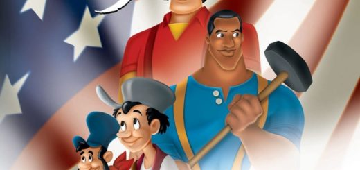 """Poster for the movie """"Disney's American Legends"""""""