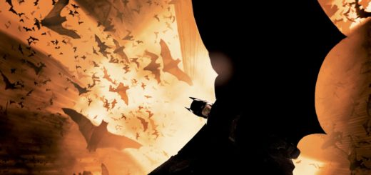 "Poster for the movie ""Batman Begins"""