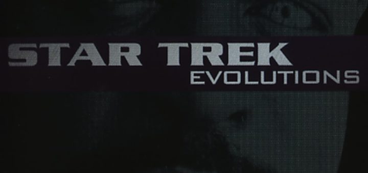 "Poster for the movie ""Star Trek Evolutions"""