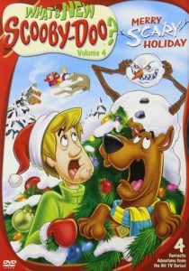"Poster for the movie ""What's New Scooby-Doo? Volume 4: Merry Scary Holiday"""