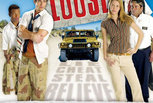 "Poster for the movie ""Suits on the Loose"""
