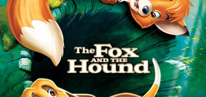 """Poster for the movie """"The Fox and the Hound"""""""