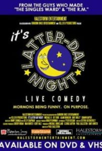 "Poster for the movie ""It's Latter-day Night Live Comedy"""