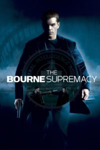 "Poster for the movie ""The Bourne Supremacy"""