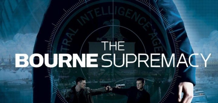 """Poster for the movie """"The Bourne Supremacy"""""""