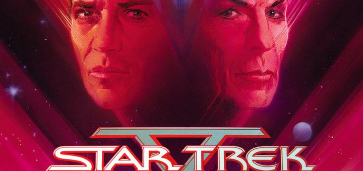 "Poster for the movie ""Star Trek V: The Final Frontier"""