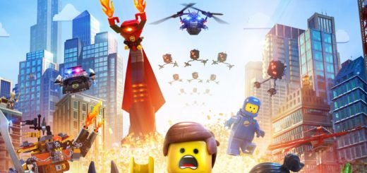 "Poster for the movie ""The Lego Movie"""