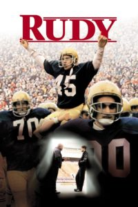"Poster for the movie ""Rudy"""