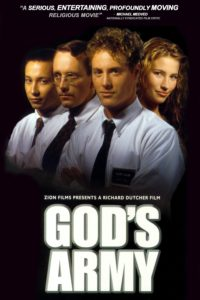 "Poster for the movie ""God's Army"""