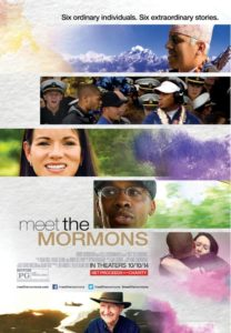 "Poster for the movie ""Meet the Mormons"""