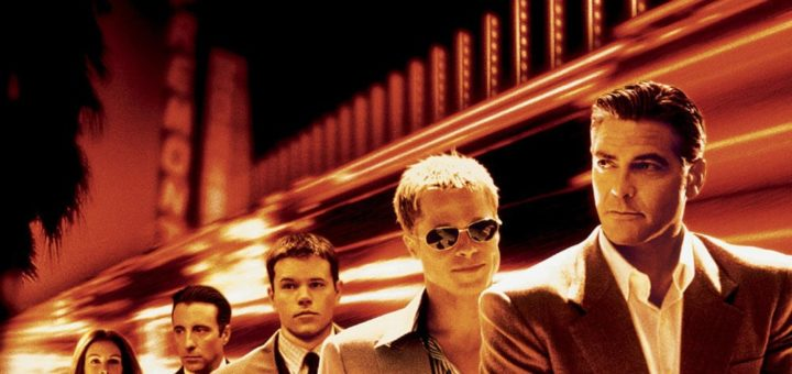 "Poster for the movie ""Ocean's Eleven"""