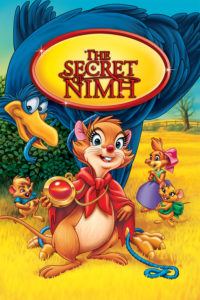 """Poster for the movie """"The Secret of NIMH"""""""