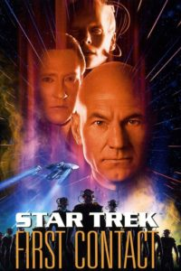 """Poster for the movie """"Star Trek: First Contact"""""""