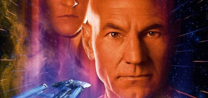"Poster for the movie ""Star Trek: First Contact"""