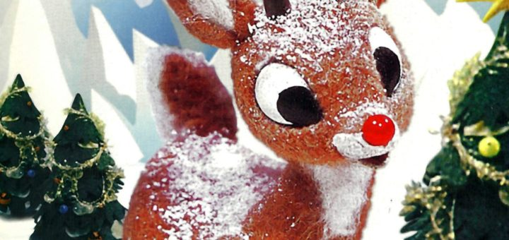 "Poster for the movie ""Rudolph the Red-Nosed Reindeer"""