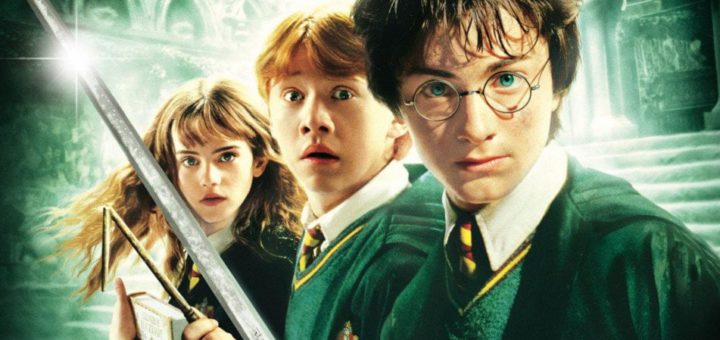 "Poster for the movie ""Harry Potter and the Chamber of Secrets"""