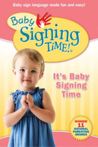 "Poster for the movie ""Baby Signing Time Vol. 1: It's Baby Signing Time"""
