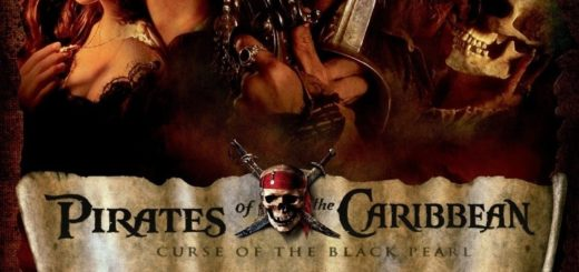 """Poster for the movie """"Pirates of the Caribbean: The Curse of the Black Pearl"""""""