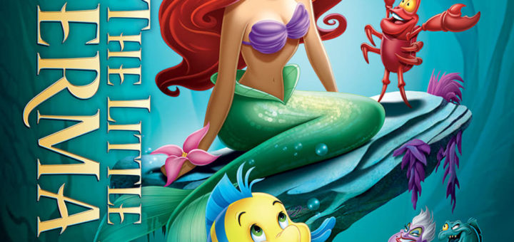 """Poster for the movie """"The Little Mermaid"""""""