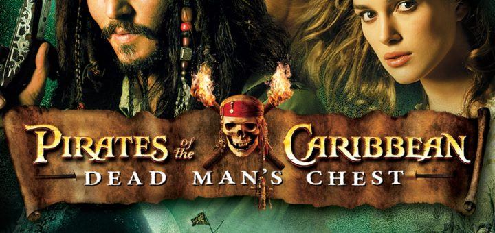 "Poster for the movie ""Pirates of the Caribbean: Dead Man's Chest"""