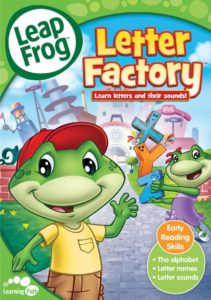 "Poster for the movie ""LeapFrog: The Letter Factory"""