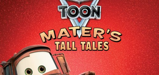 "Poster for the movie ""Cars Toon Mater's Tall Tales"""