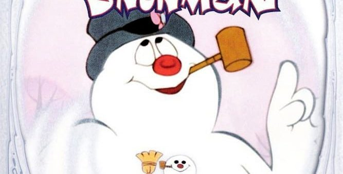 """Poster for the movie """"Frosty the Snowman"""""""