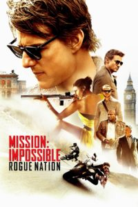 "Poster for the movie ""Mission: Impossible - Rogue Nation"""