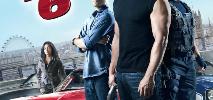 """Poster for the movie """"Fast & Furious 6"""""""