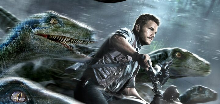 """Poster for the movie """"Jurassic World"""""""