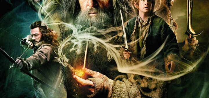 """Poster for the movie """"The Hobbit: The Desolation of Smaug"""""""